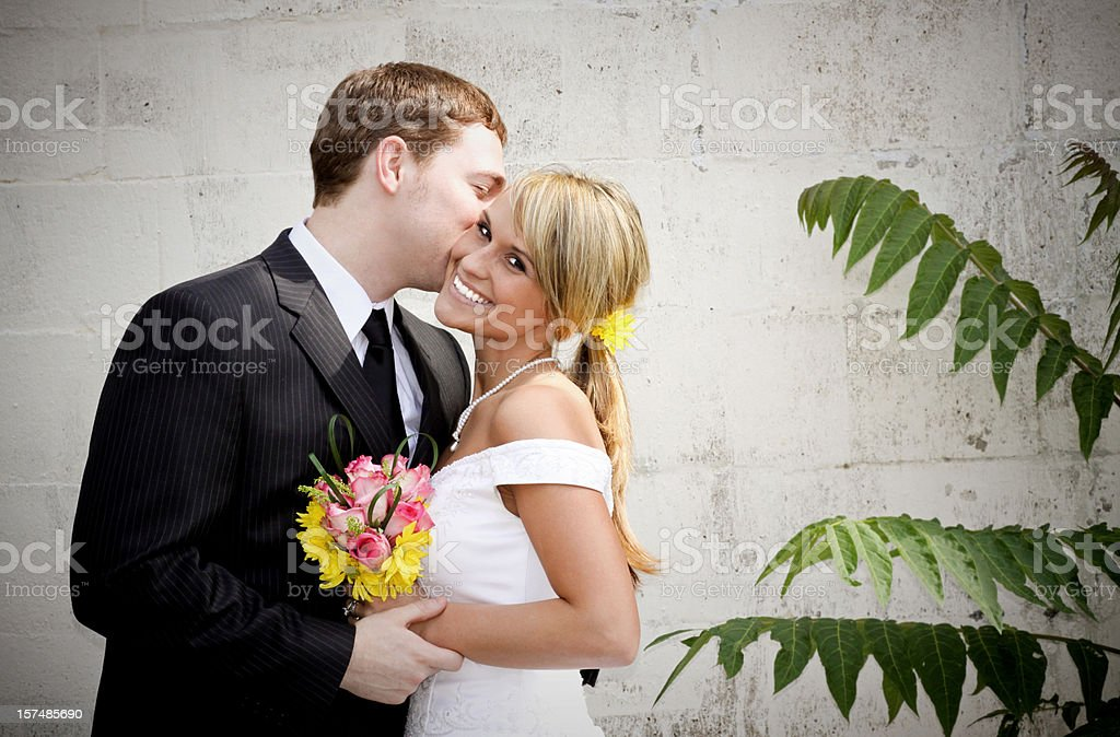 Best Wedding Portraits royalty-free stock photo