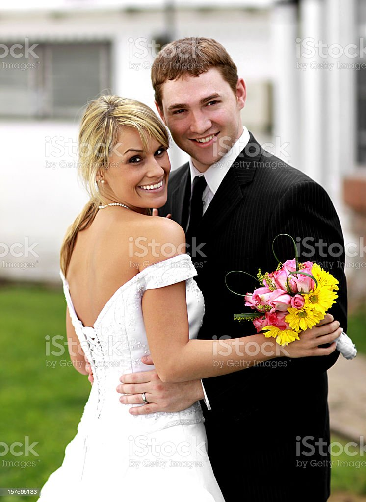 Best Wedding Portraits royalty-free stock photo