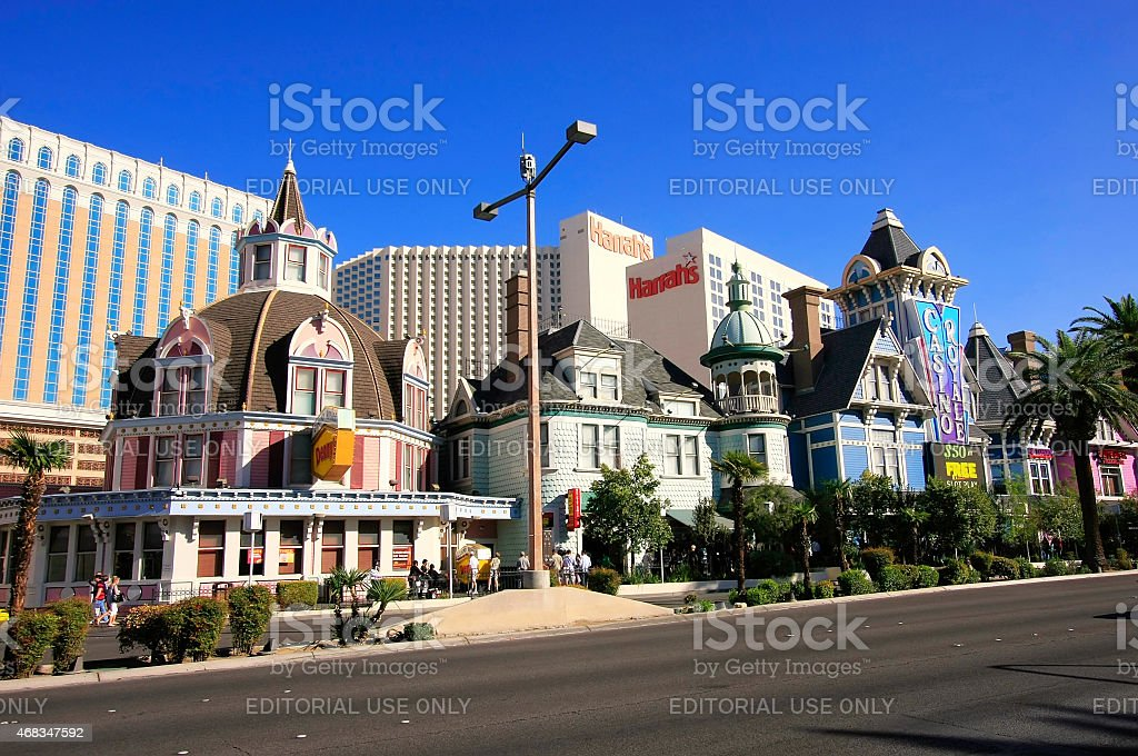 Best Western Plus Casino Royale in Las Vegas, Nevada stock photo
