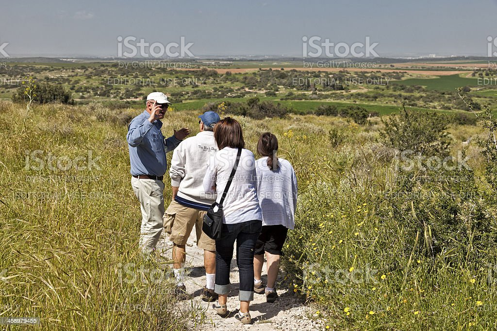 Bet Guvrin-Maresha National Park in Israel stock photo