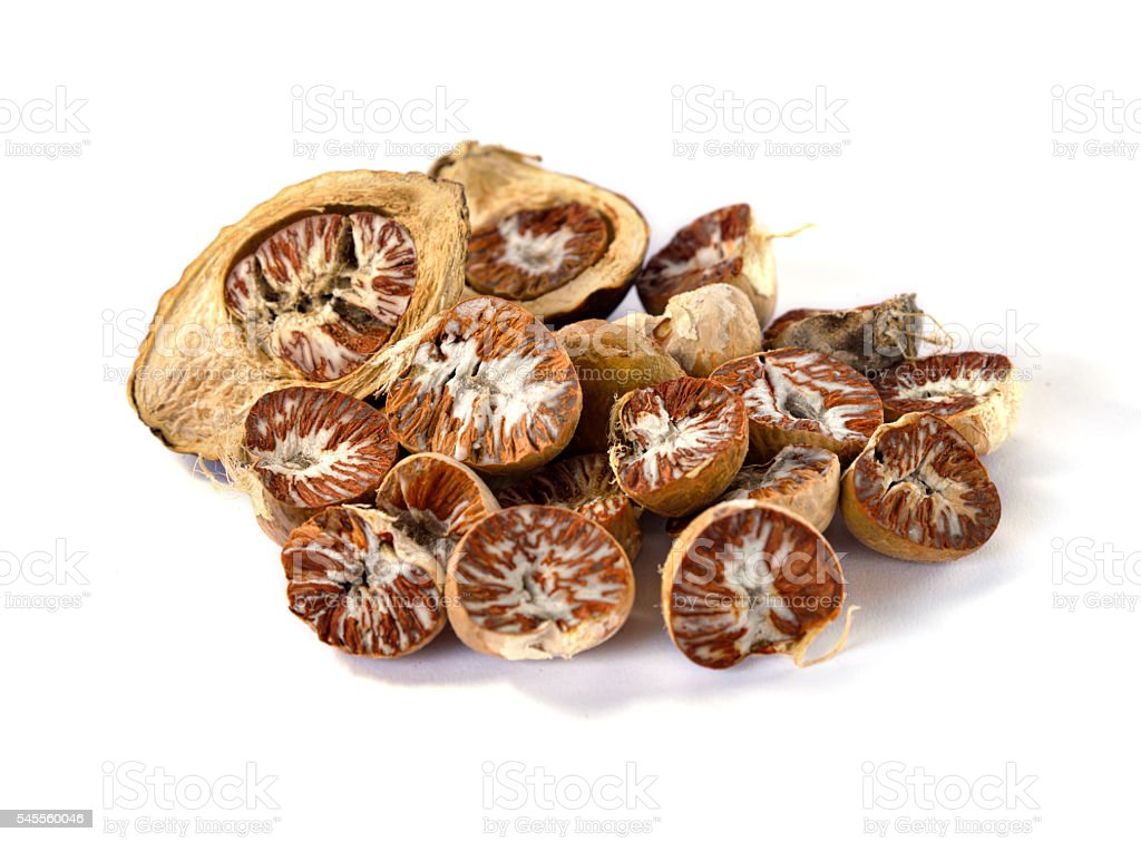 Betel Nut or Areca Nut stock photo