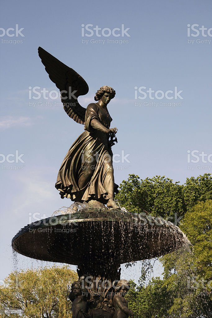 Bethesda Angel stock photo