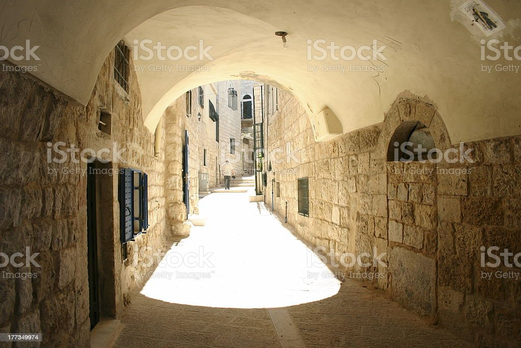 Bethlehem Old Street royalty-free stock photo
