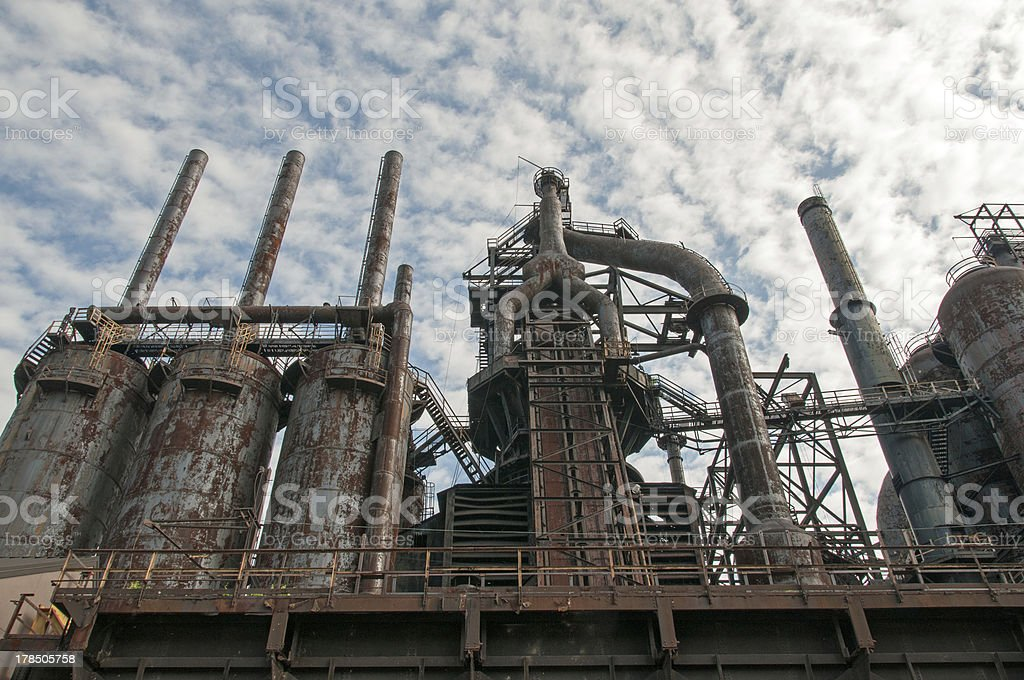 Bethlehem Steelwork stock photo