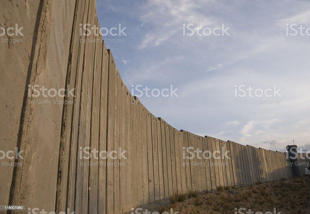 Bethlehem Wall royalty-free stock photo
