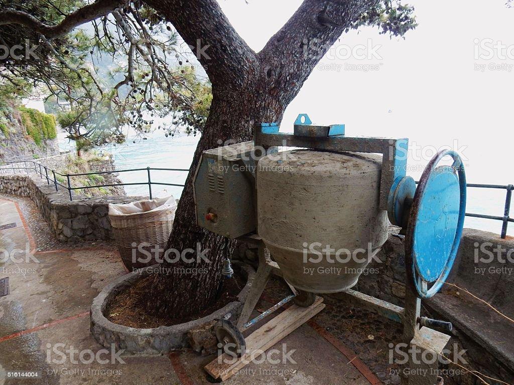 Betoniera panoramica stock photo