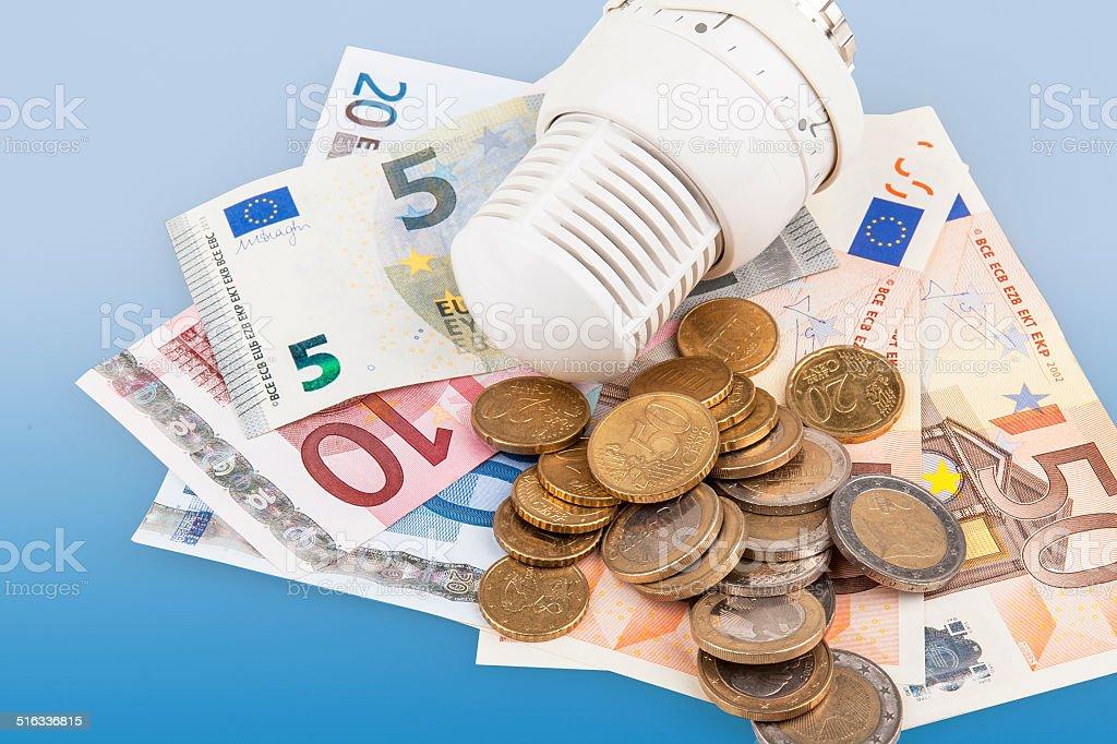 Betriebskosten - running costs stock photo