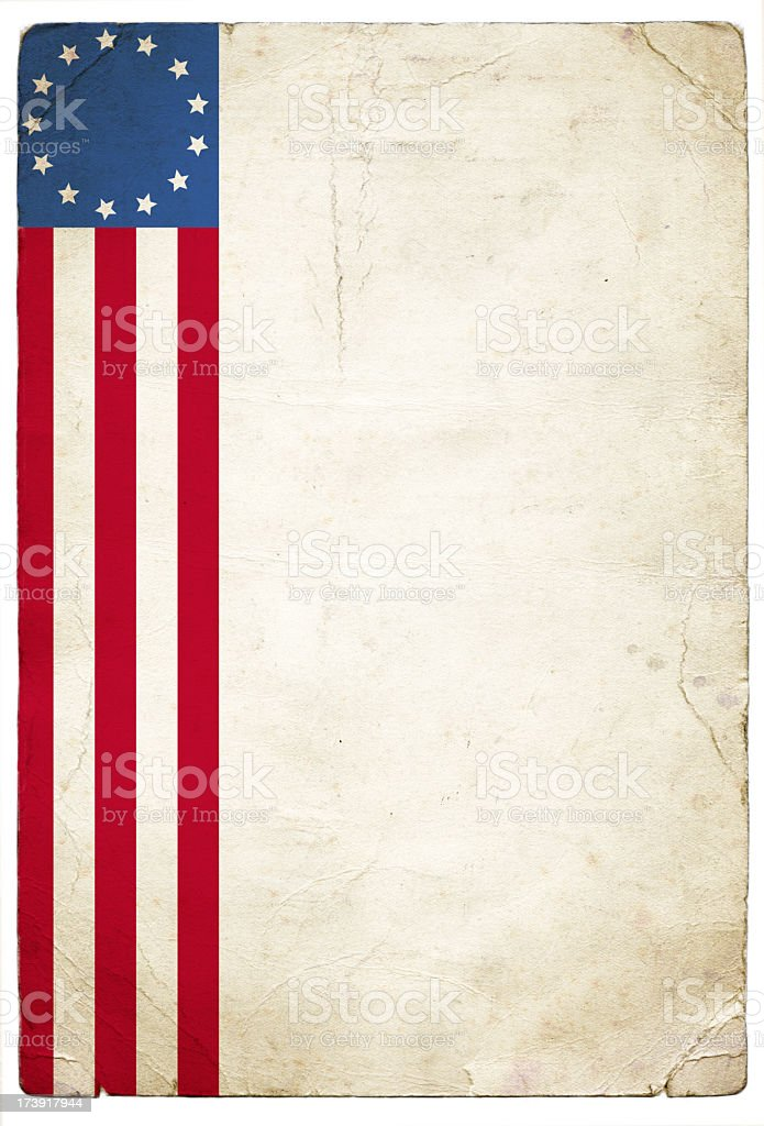 Betsy Ross Patriotic Background royalty-free stock photo