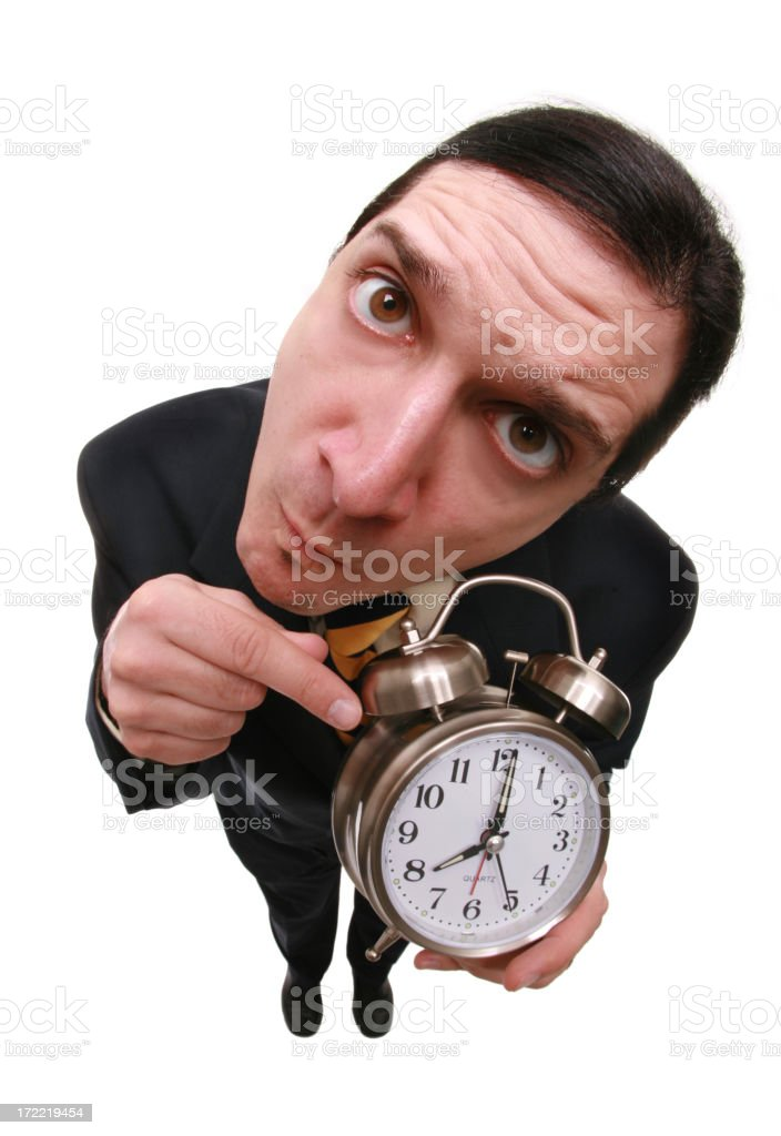 Better Be Prompt! stock photo
