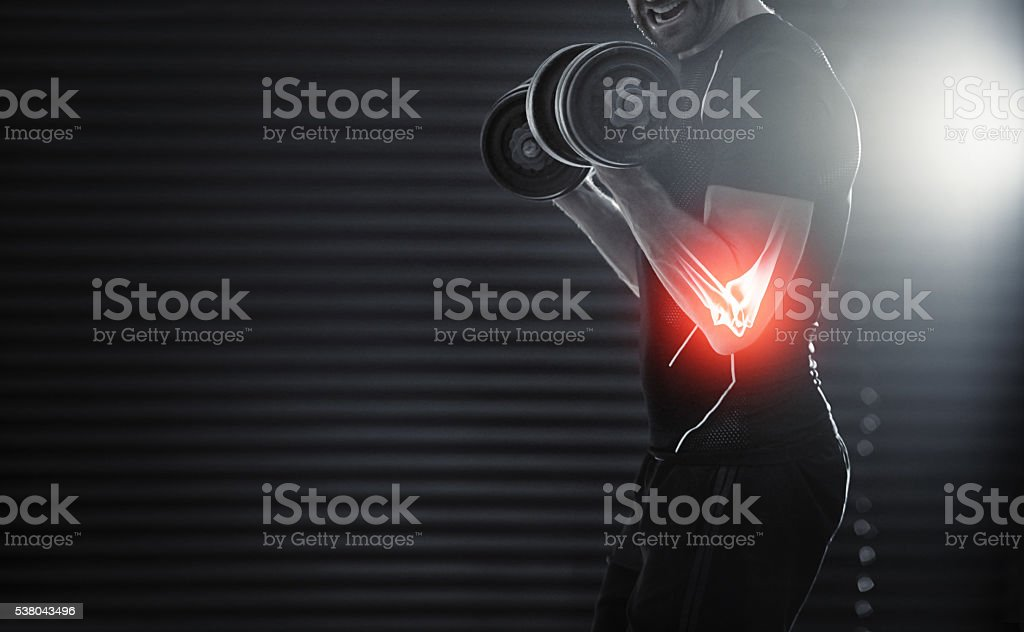 Better sore than sorry stock photo