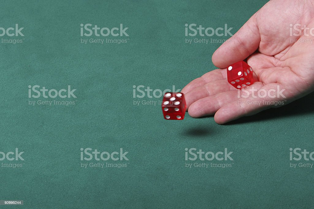 betting on the odds royalty-free stock photo