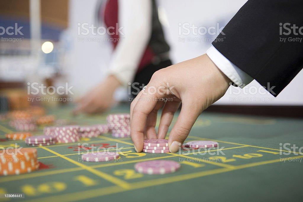 Betting stock photo