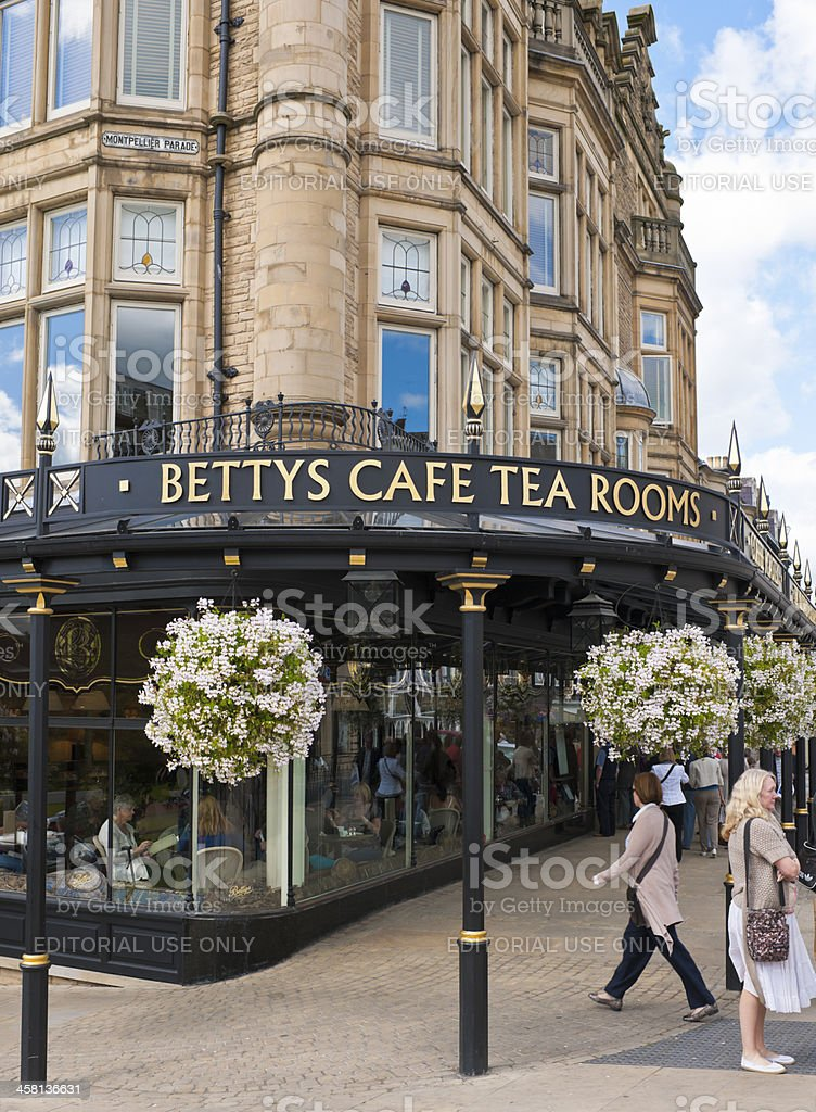 Bettys Cafe and Tea Rooms at Harrogate stock photo