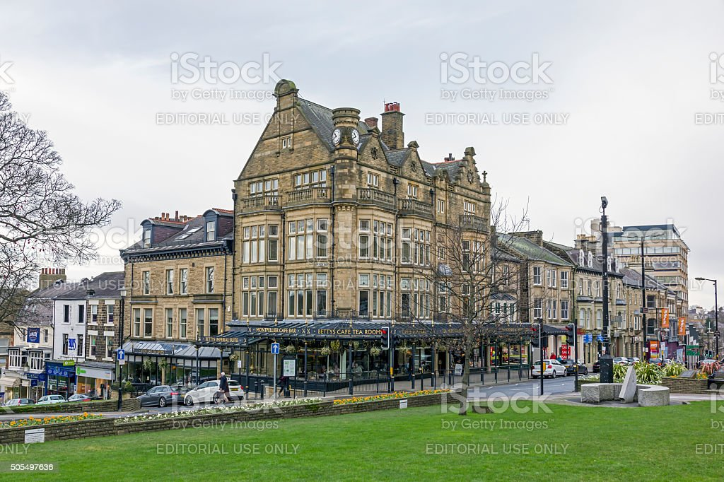Bettys Cafe and Tea Rooms, Harrogate stock photo