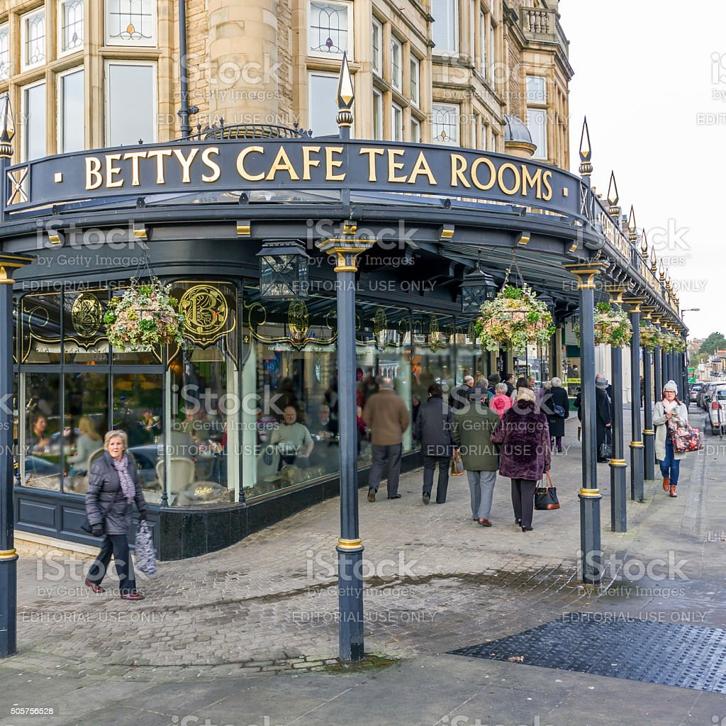 Bettys Cafe and Tea Rooms, Harrogate stock photo