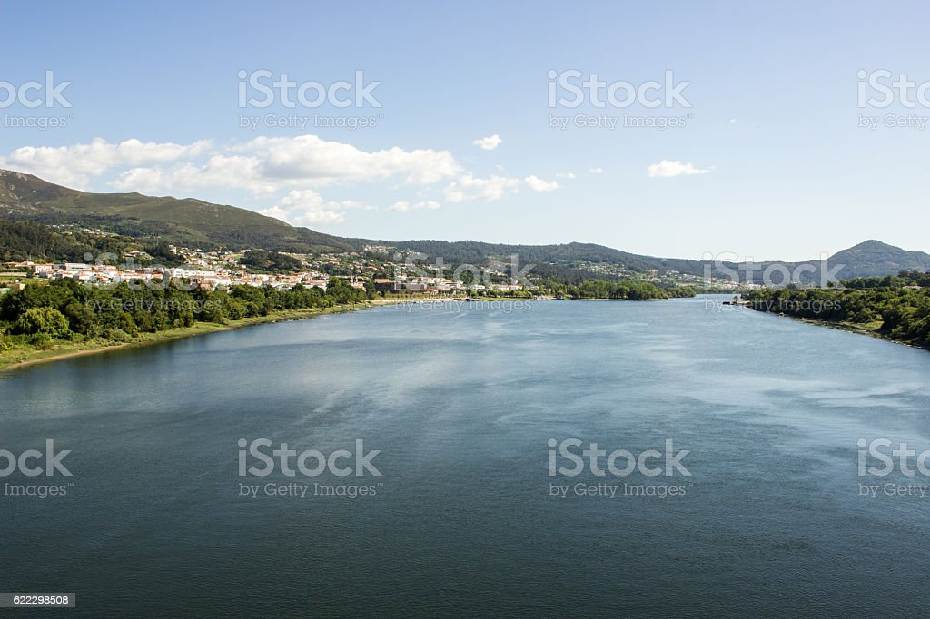 Between Portugal and Spain royalty-free stock photo