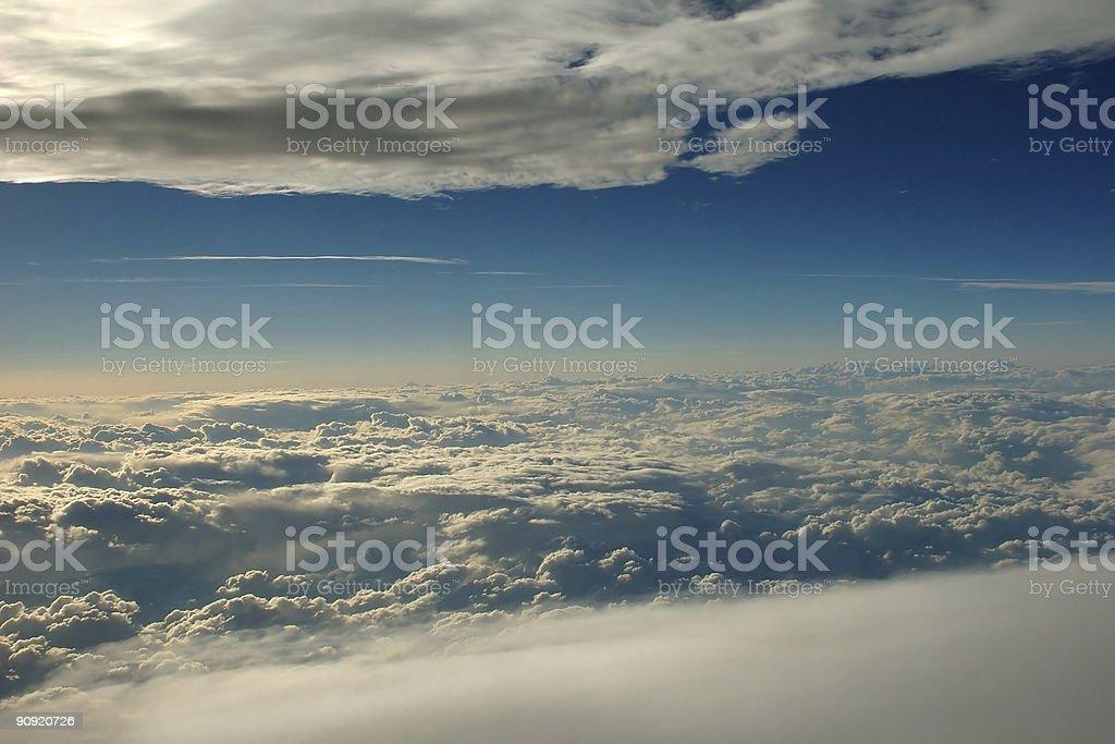 Between sky royalty-free stock photo