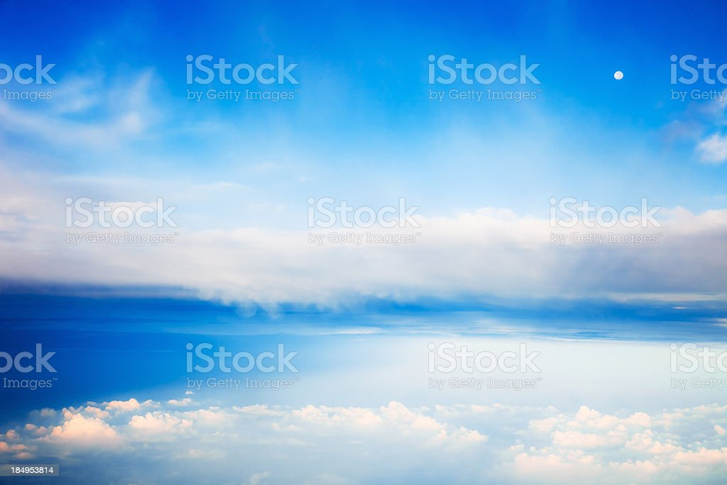 Between the Clouds royalty-free stock photo