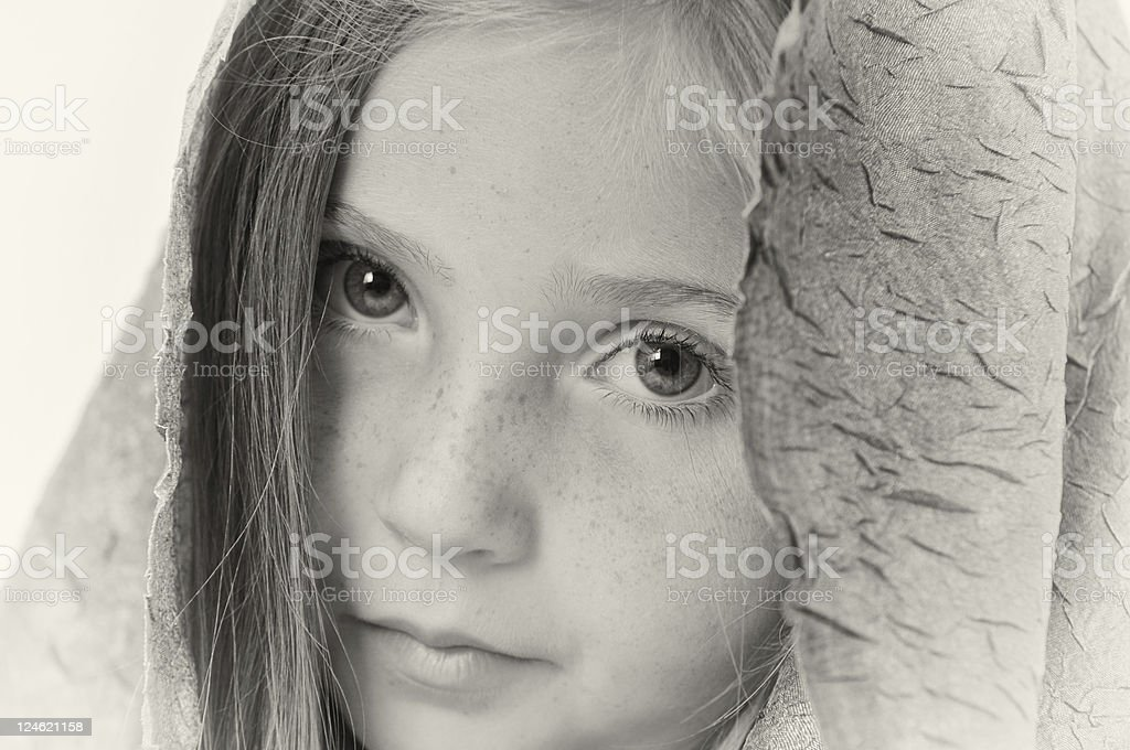 beuatiful girl royalty-free stock photo