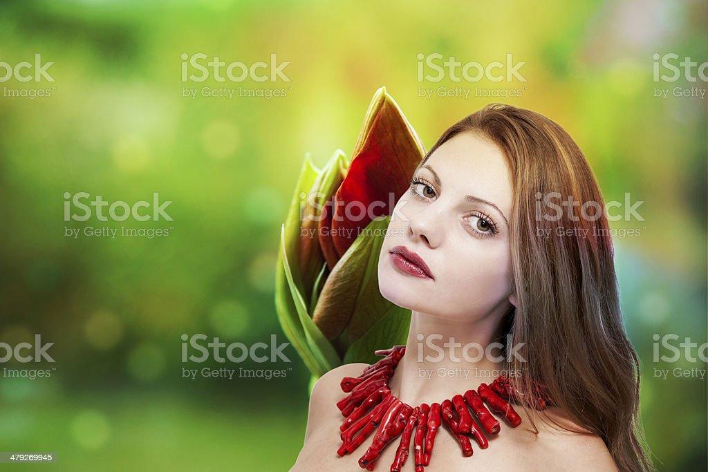 Beuatiful woman royalty-free stock photo