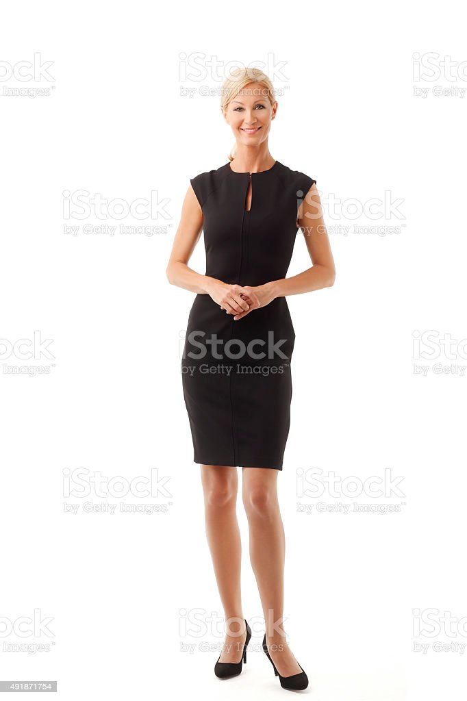 Beutiful businesswoman portrait stock photo
