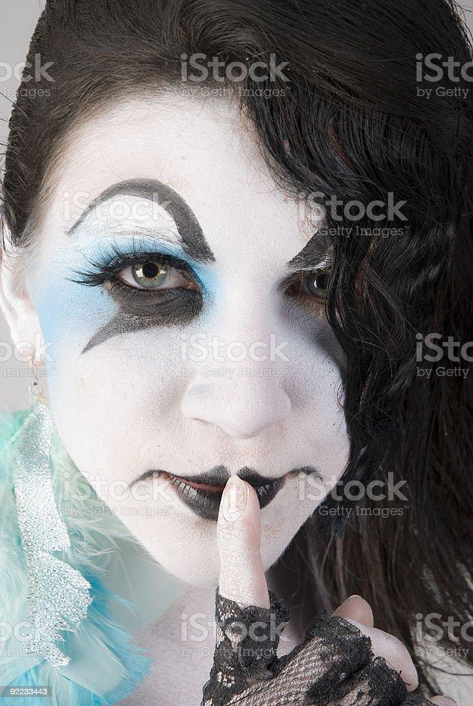 Beutiful Mime stock photo
