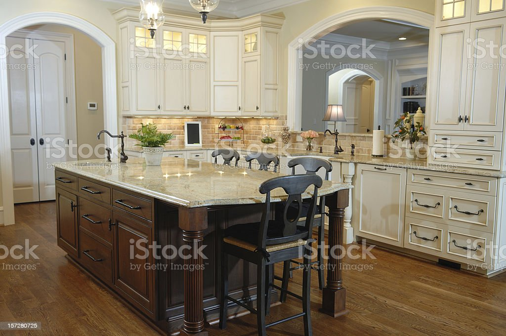 Beutiful Suburban Home royalty-free stock photo