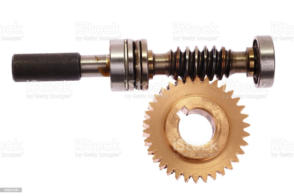 Bevel gear royalty-free stock photo