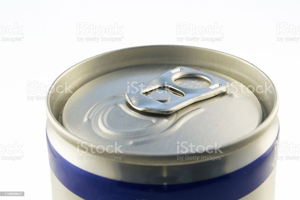 beverage can closed lid royalty-free stock photo