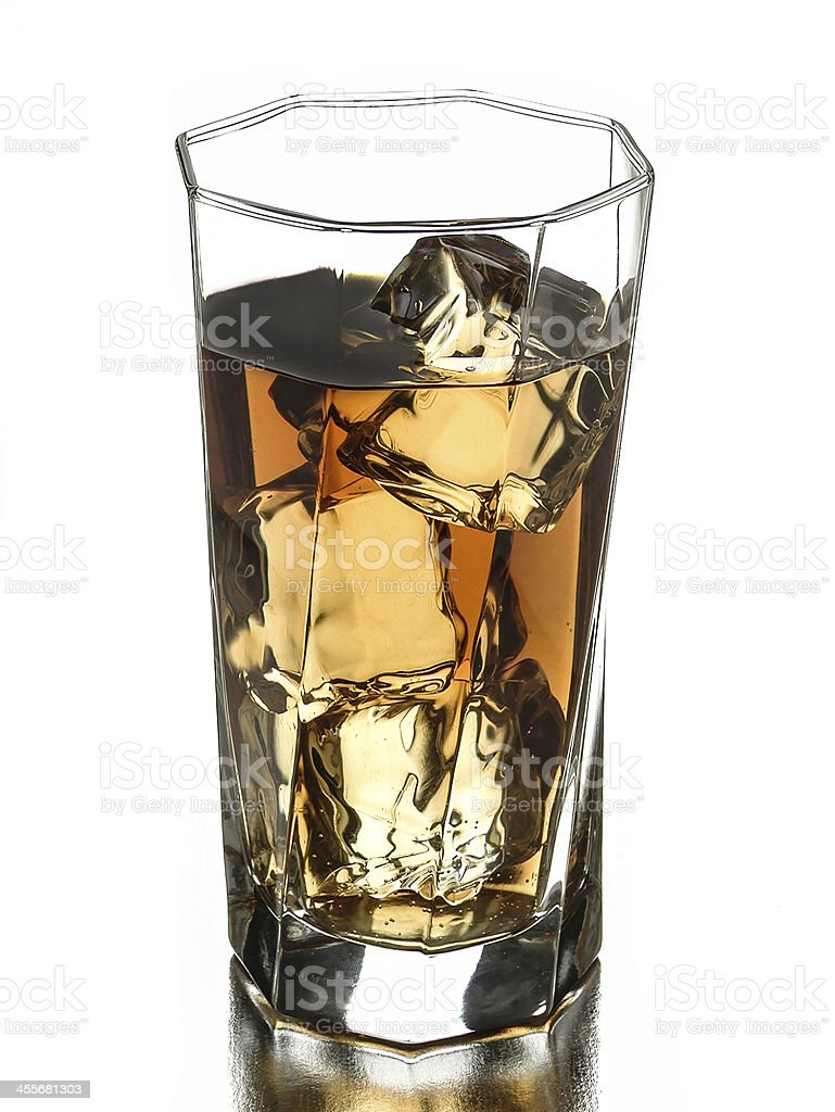 beverage on the rocks royalty-free stock photo