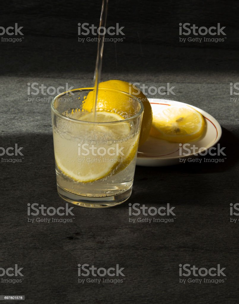 Beverage preparation stock photo