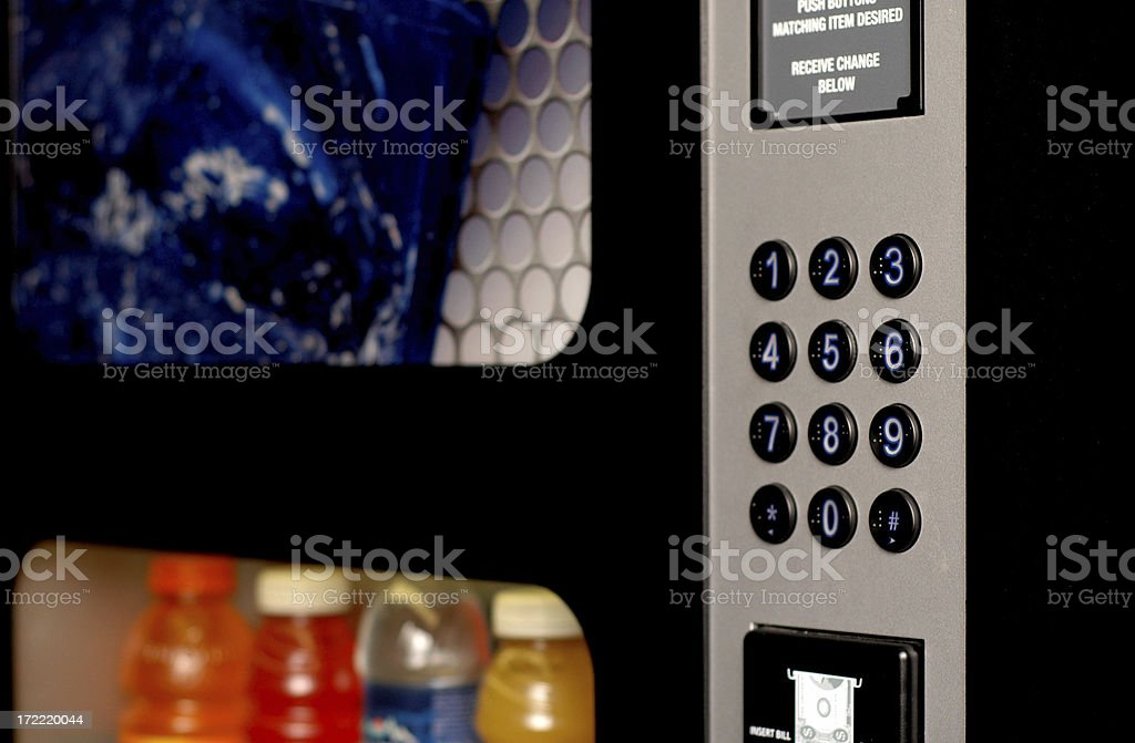 Beverage Vending Machine stock photo