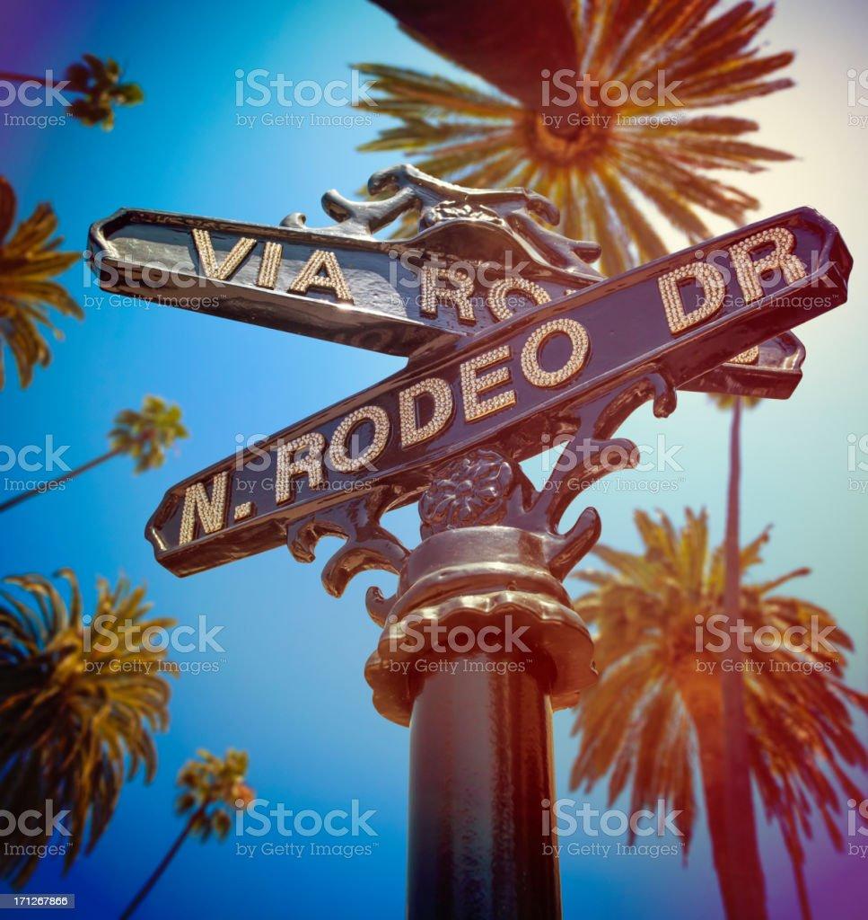 Beverly Hills California stock photo