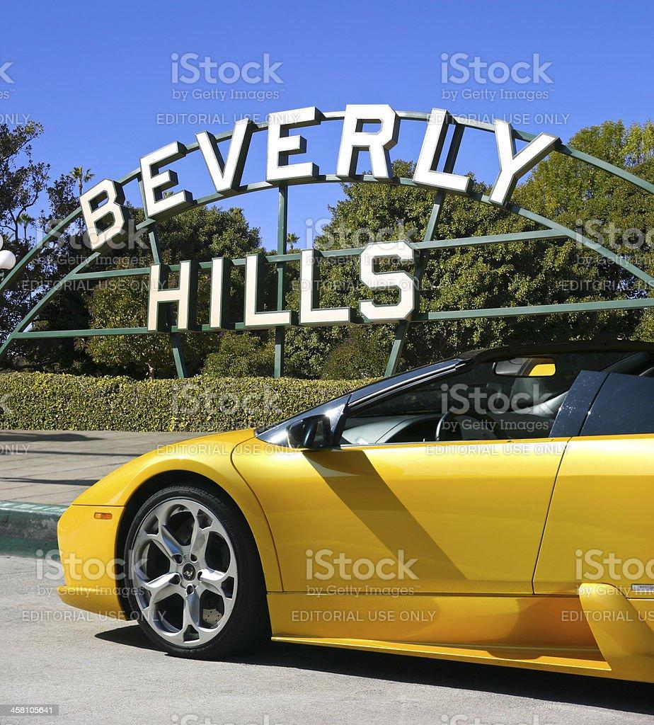 Beverly Hills, California stock photo