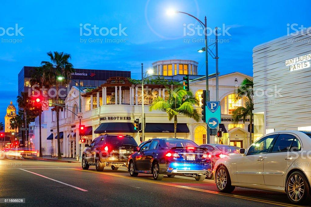 Beverly Hills Los Angeles California USA stock photo