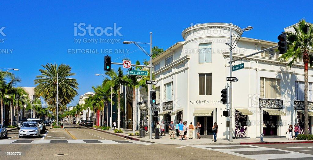 Beverly Hills, USA stock photo