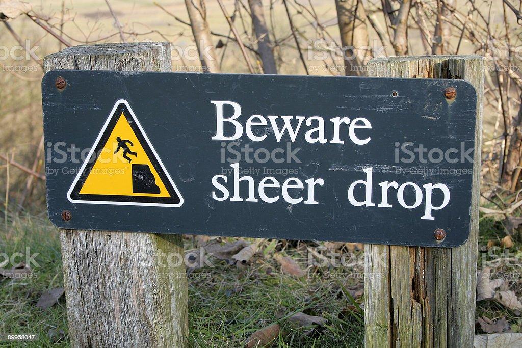 Beware stock photo