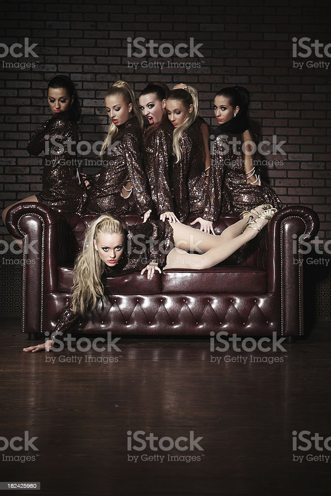 Bewitching envy royalty-free stock photo