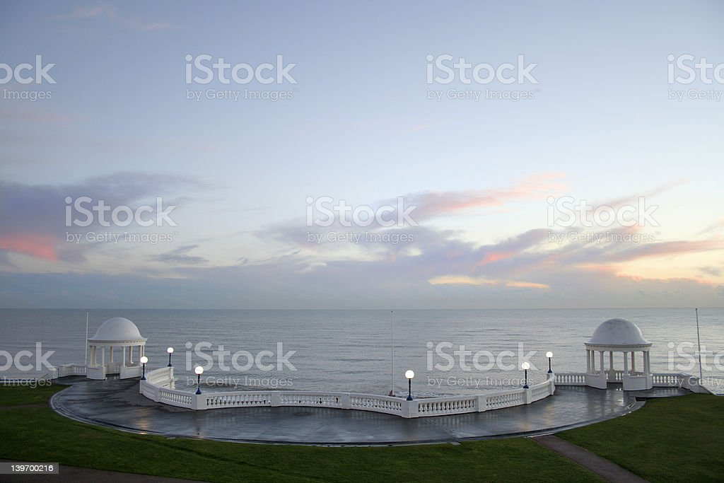Bexhill-on-Sea (room for text) royalty-free stock photo