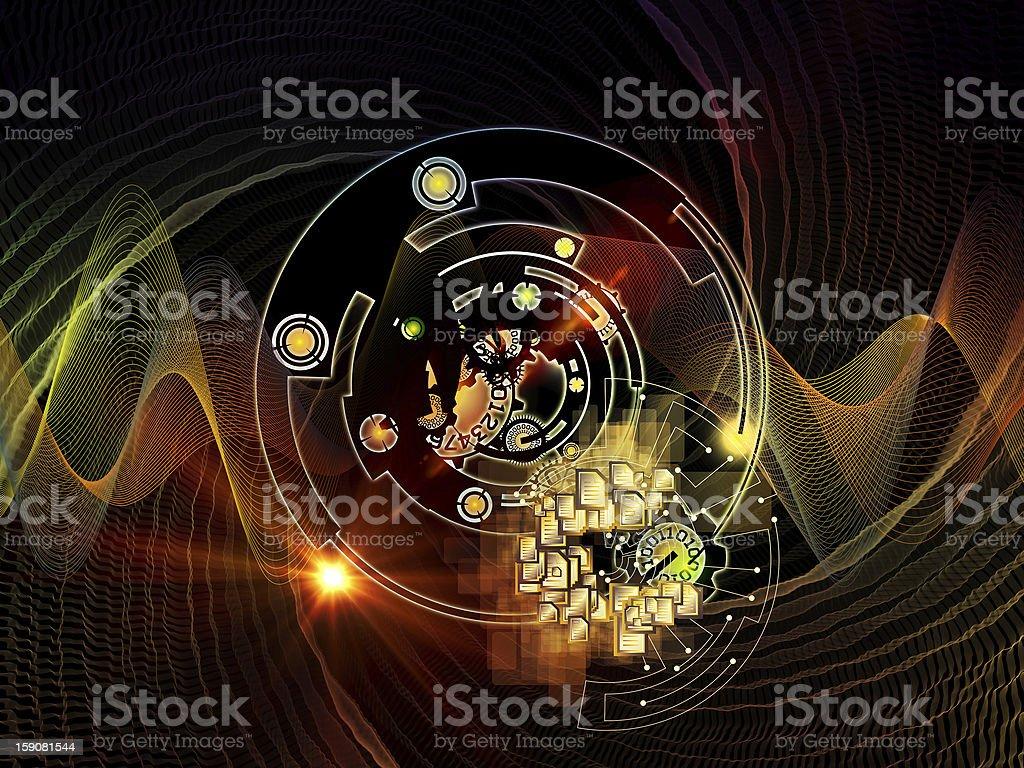 Beyond Digital Processing stock photo