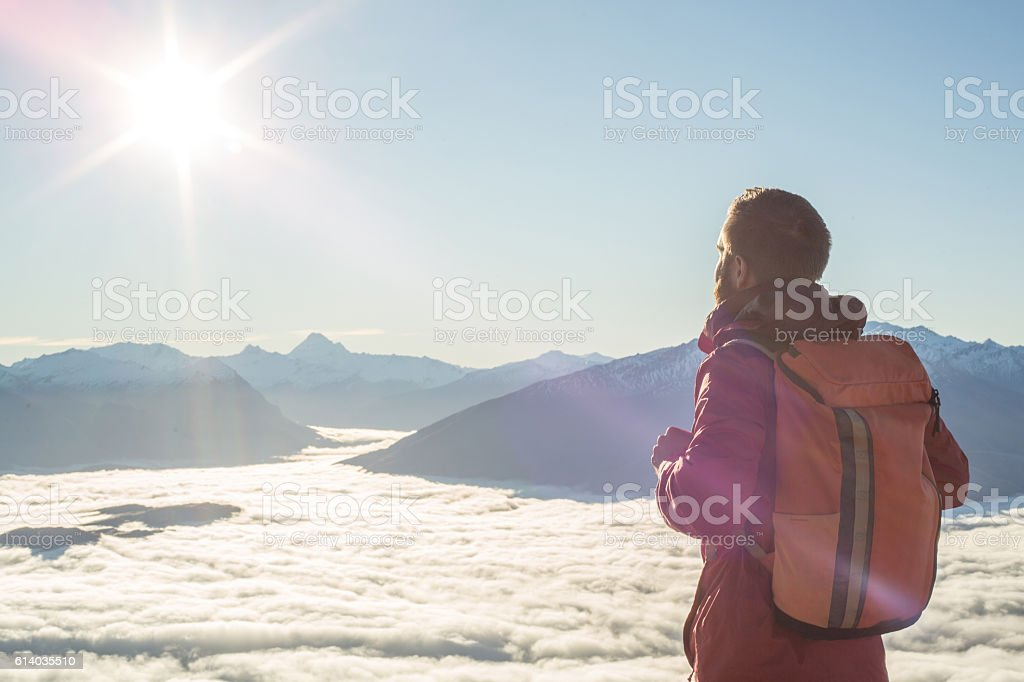 Beyond expectations stock photo