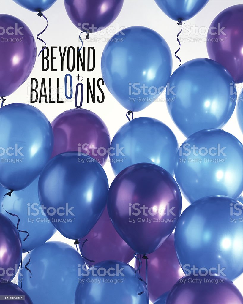 Beyond the Balloons royalty-free stock photo