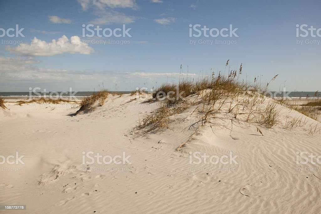 Beyond the Dunes stock photo