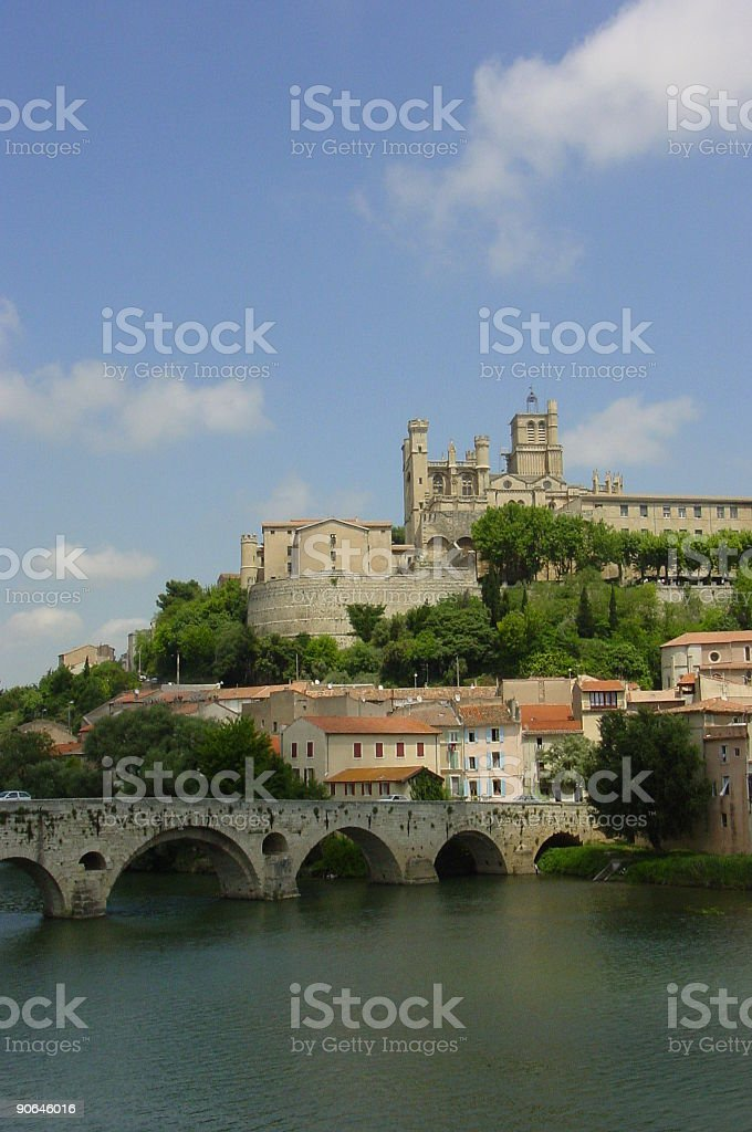 Bezier (France) royalty-free stock photo