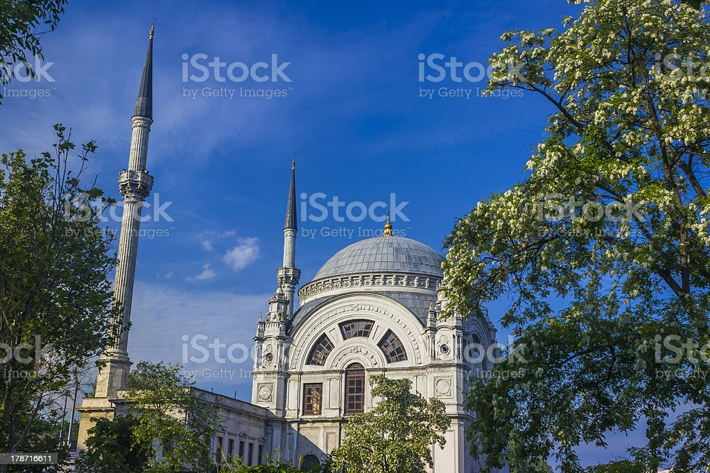 Bezm-i Alem Valide Sultan Mosque royalty-free stock photo