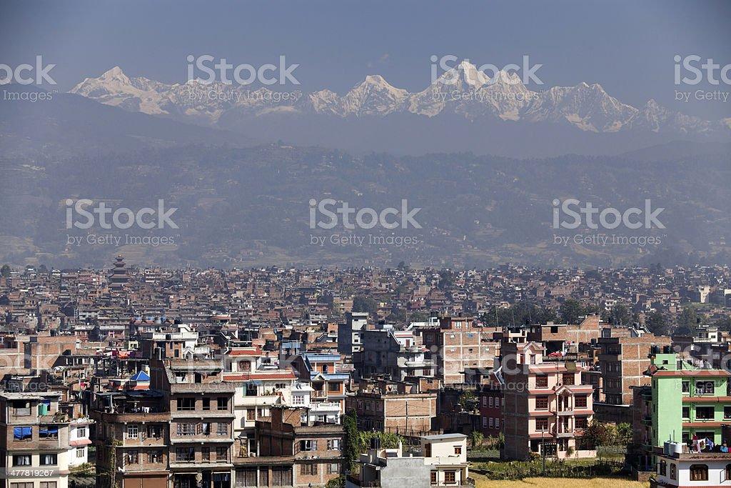 Bhaktapur Nepal royalty-free stock photo