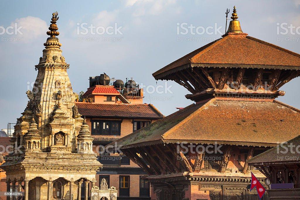 Bhaktapur stock photo