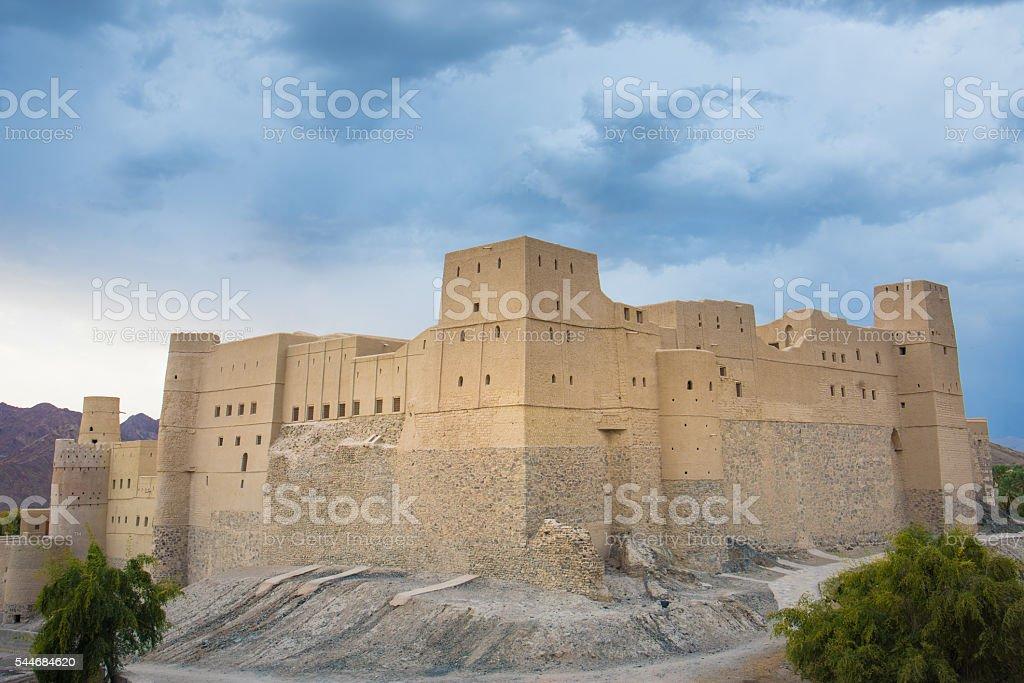 Bhala Fort, Oman stock photo