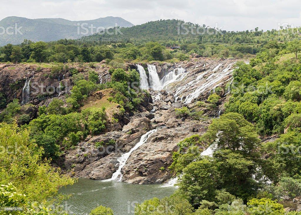 Bharachukki waterfall, Karnataka, India stock photo