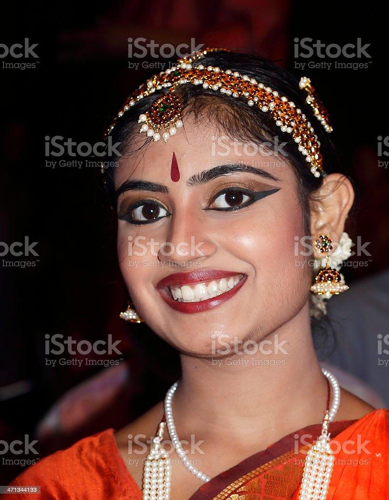 Bharata Natyam Dancer stock photo
